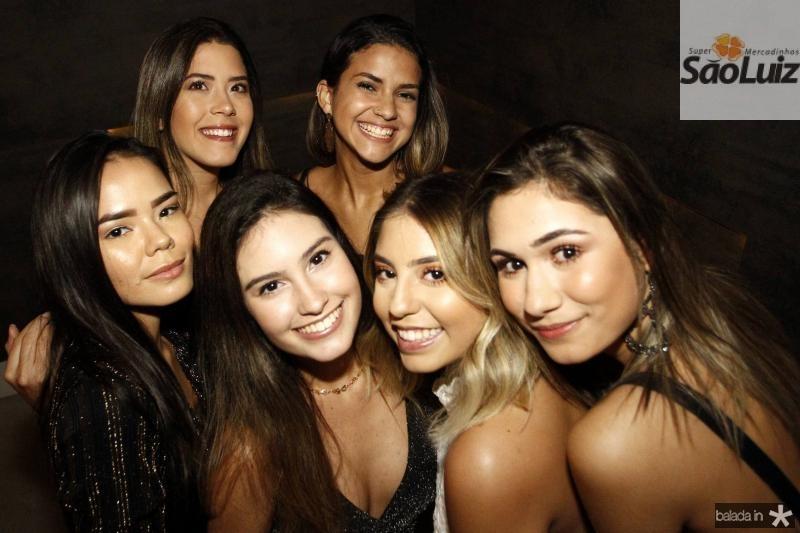 Gabriela Fagundes, Lara Mesquita, Livia Arruda, Natalia Caetano, Kauane Maia e Raquel Moreira 1