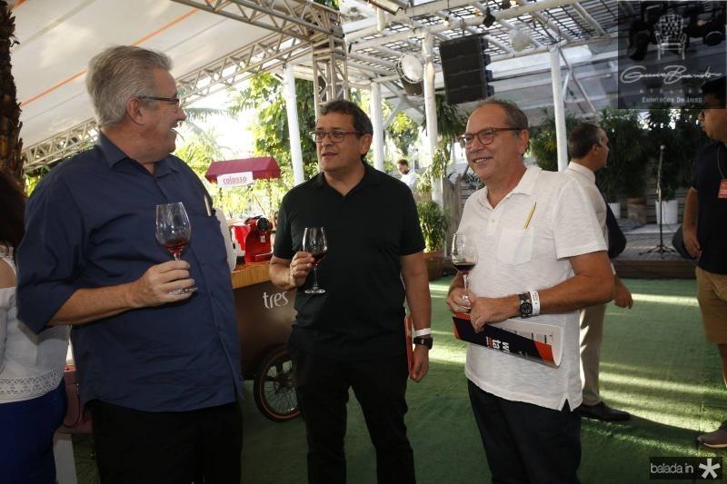 Gilson Gondim, Jose Guedes e Neto Galdino