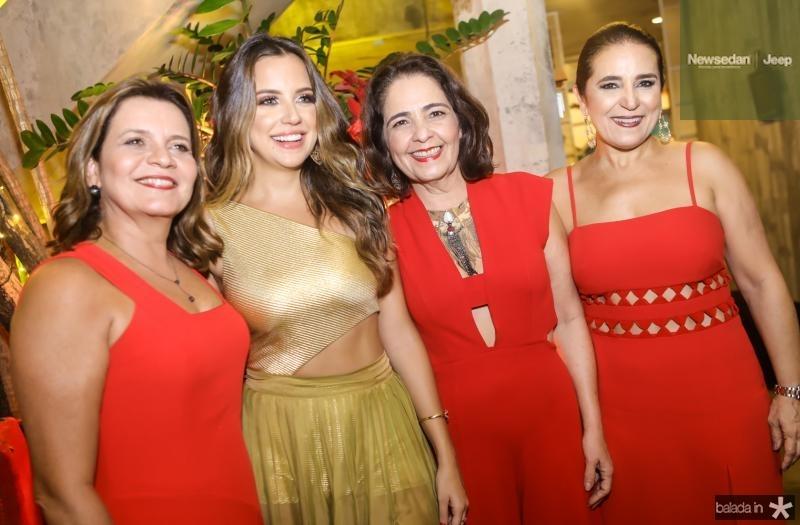 Geni e Fernanda Levy, Giana Studart e Patricia Macedo