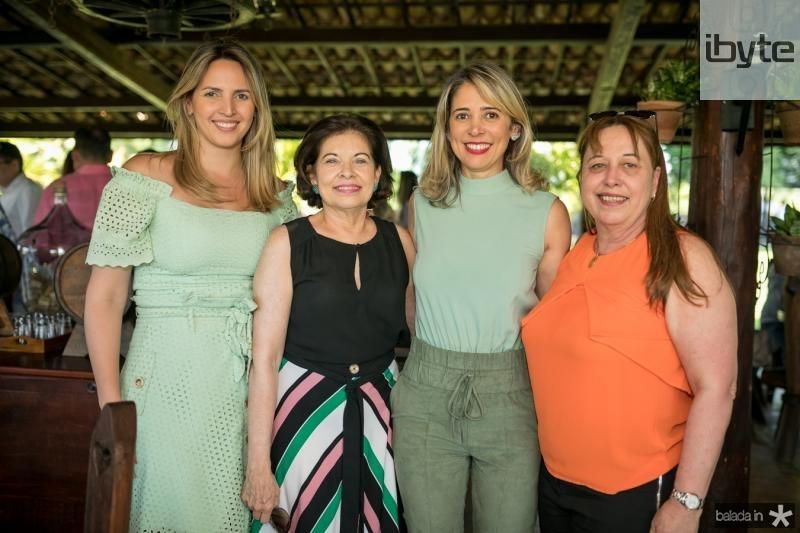 Mariana Gurgel, Monica Albuquerque, Cristiane Guimaraes e Tereza Moreira
