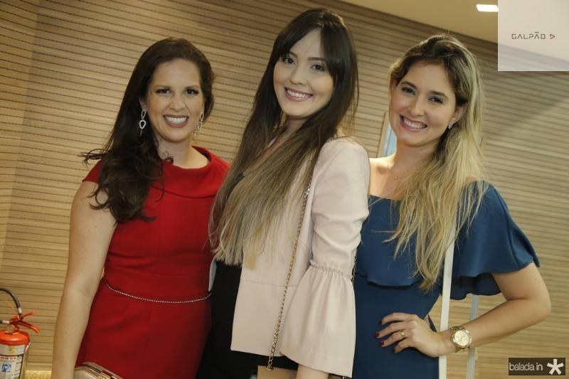 Sara Teixeira, Caroline Leite e Clarissa Candeias