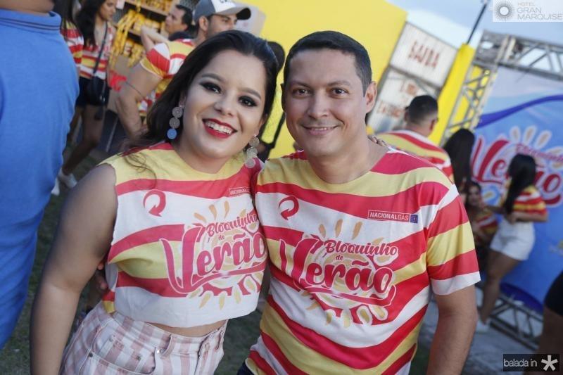 Tainah Carvalho e Carlos Lacerda