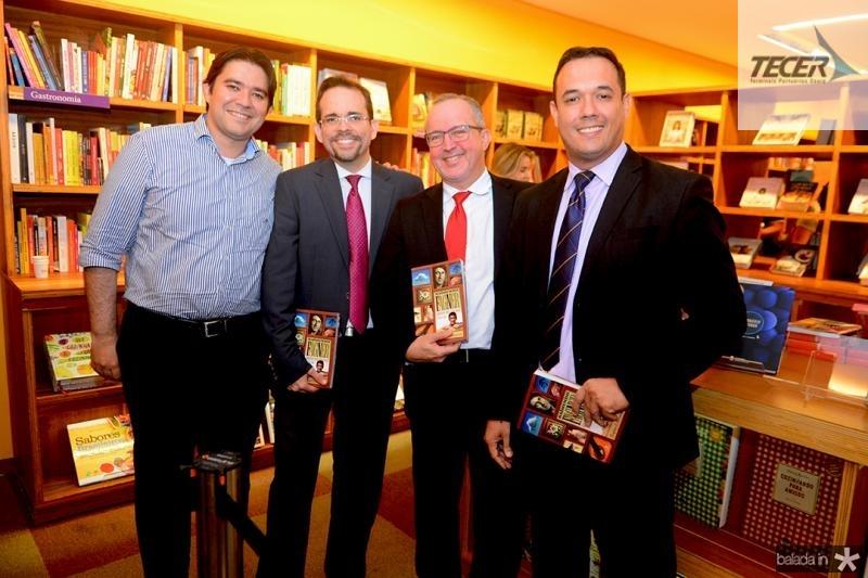 Danisio Barbosa, Sergio martins, Tarciano Barros Volney Limeira