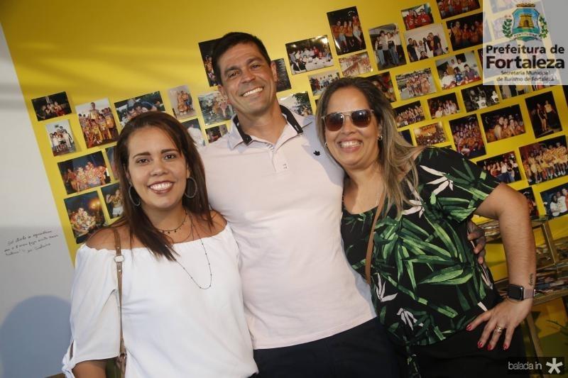 Renata Costa, Leandro e Flavia Firmeza