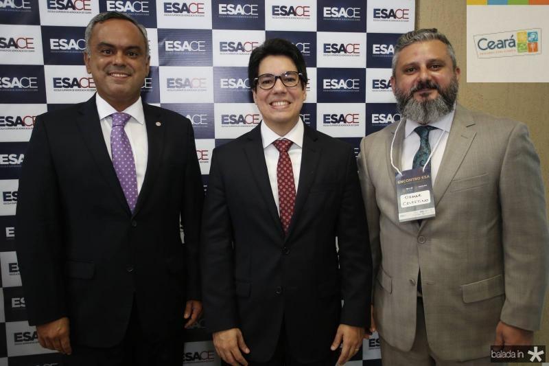 Marcelo Mota, Andrei Aguiar e Osmar Celestino