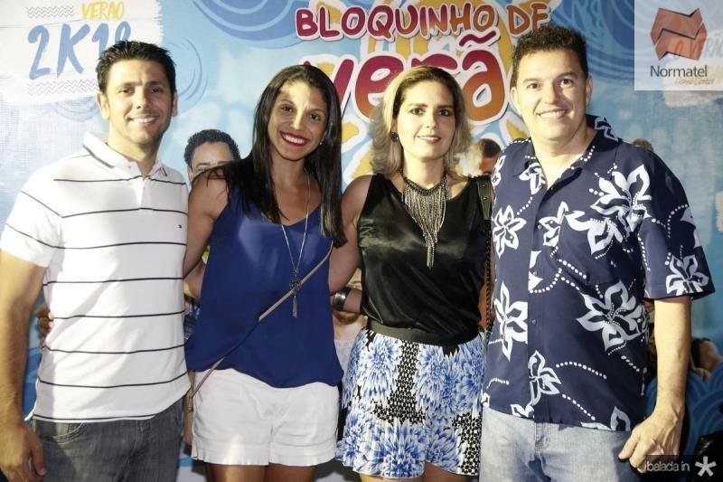 Vanderly e Milena Barroso, Tiziana e Kleber Dias