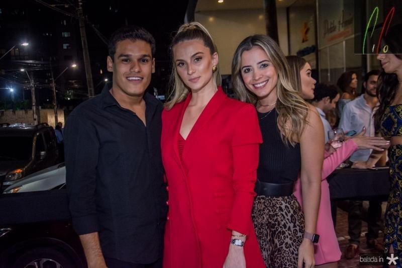 Felipe Torres, Laime Paz e Mikaela Bottura