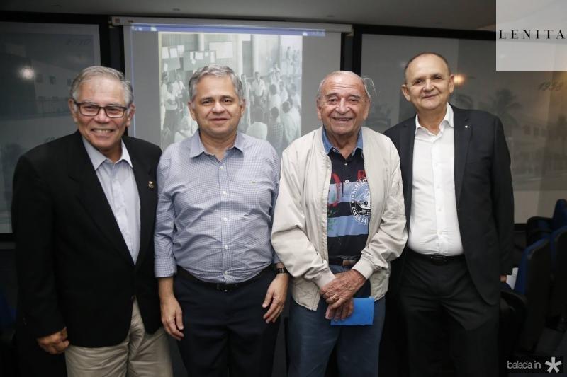 Roberto Lima, Alessandro Sa Cavalcante, Edinilo Soarez e Francisco Caminha