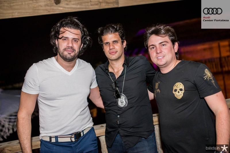 Bernardo Borges, Bruno Borges e Thiago Lavor