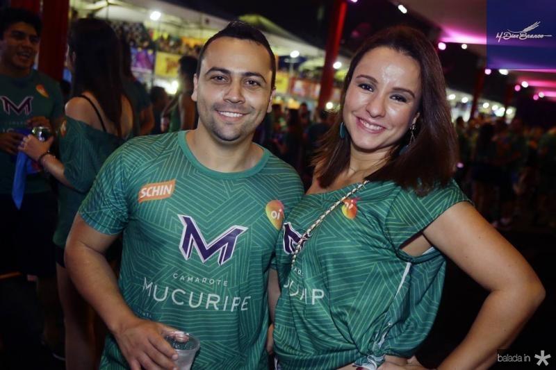 Janderson Rodrigues e Priscila Feitosa