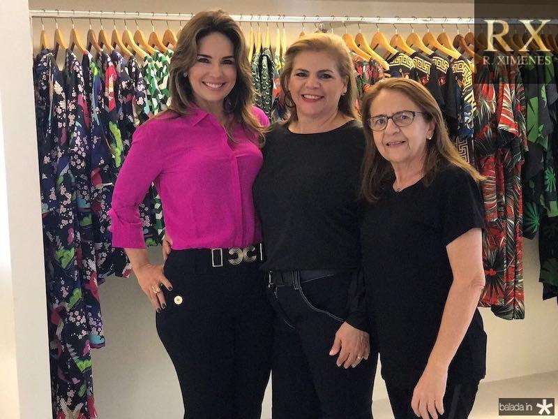 Eveline Fujita, Helena Carvalho e Zilda Lima