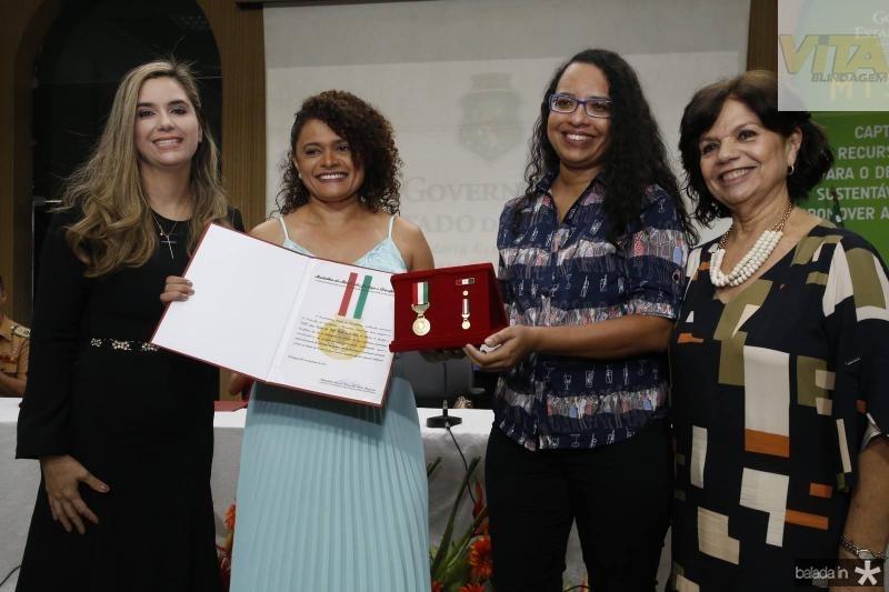Juliana Albuquerque, Ana Celia Veras, Kenia Oliveira e Candida Torres de Melo