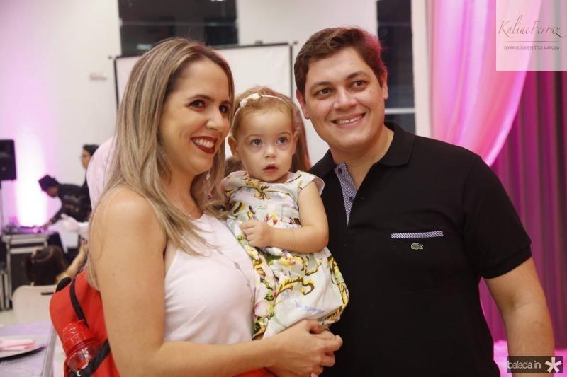 Andrea, Marina e Diogo Padilha