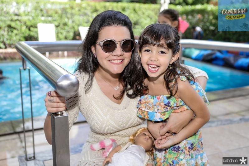 Priscila e Sarah Leal