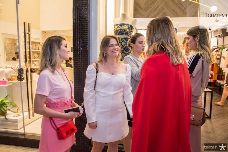 Lia Bastos, Carolina Ciarlini e Nathalia Ximenes