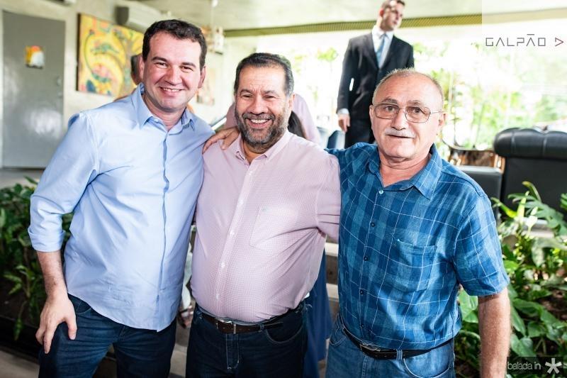Josbertini Clementino, Carlos Lupi e Geraldo Sinecio