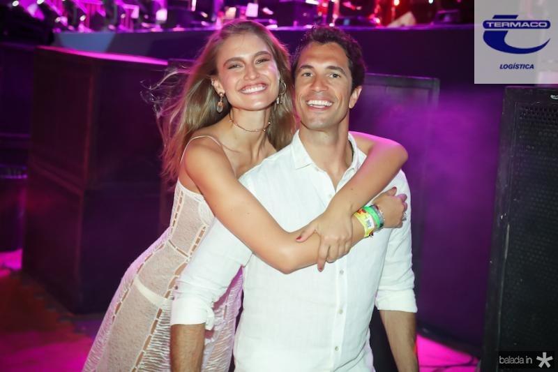 Fernanda Liz e Flavio Sarahyba