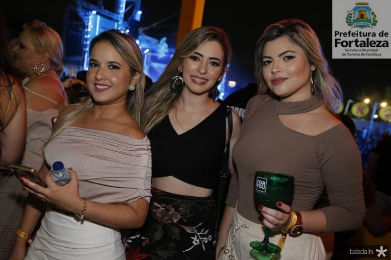 Natasha Castro, Cicera do Vale e Jessica Viana