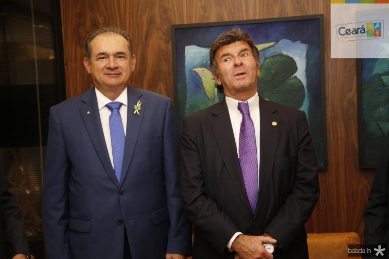 Washington Araujo e Luiz Fux