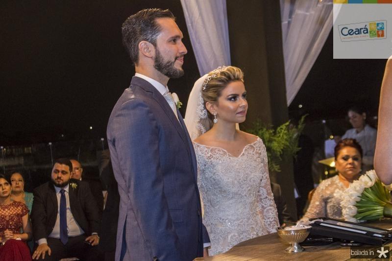 Diandra Alves e Roberto Cabral