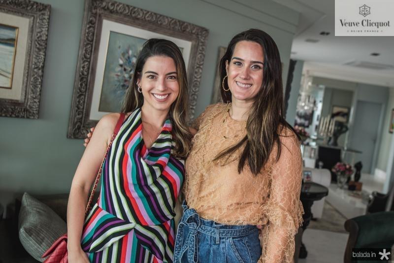 Ticiana Parente e Marina Ary