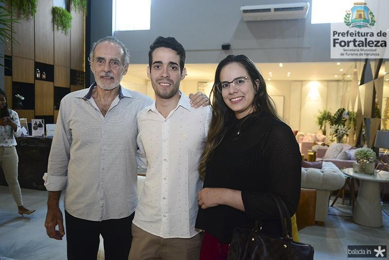 Ricardo Acioli, Pedro Paulo Rolim, Luara Ciarlini