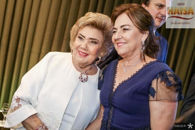 Consuelo Dias Branco e Ana Studart
