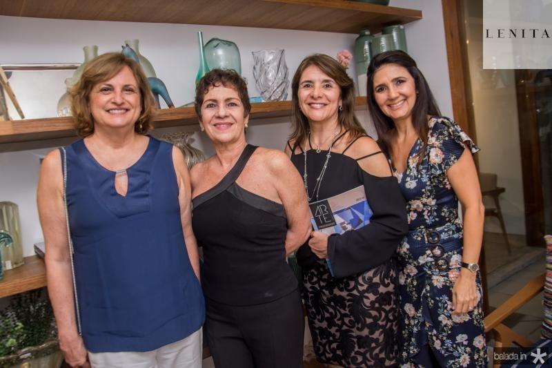 Beatriz Diogenes, Lilia Quindere, Tania Vasconcelos e Luciana Cidrao