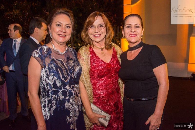 Paula Frota, Lucia Wolf e Lilia Quindere