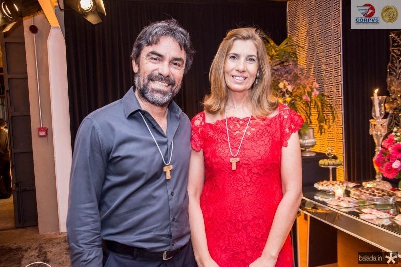 Fernandes Filho e Paloma Fernandes