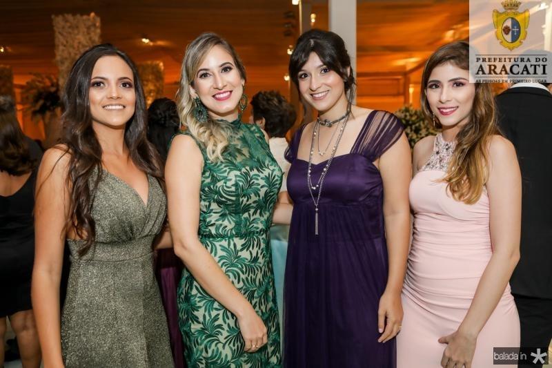 Talita Dantes, Laila Holanda, Thais Filgueiras e Sabrina Suleiman