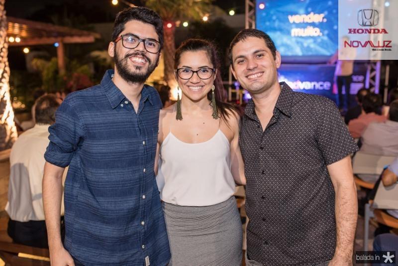 Cid Guimaraes, Ana Virginia e Elton Mesquita