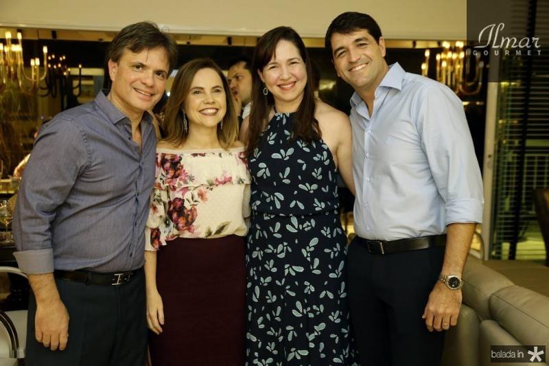 Andre e Gyna Juca e Fernanda e Felipe Carvalho