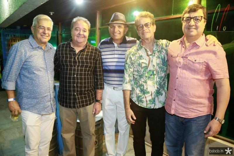 PC Noroes, Chiquinho Aragao, Licinho Correa, Cesar Fiuza e Danilo Forte
