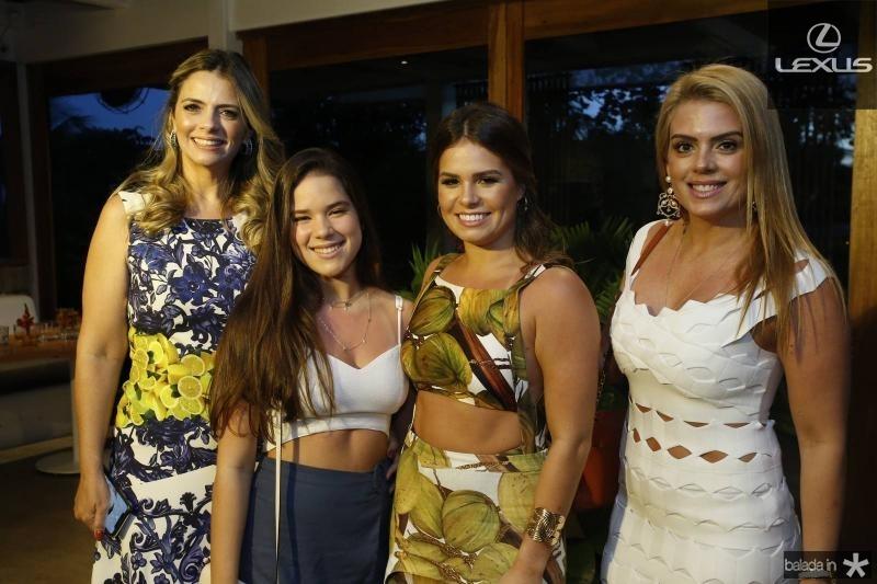 Tais Pinto, Lais, Leticia e Leticia Studart