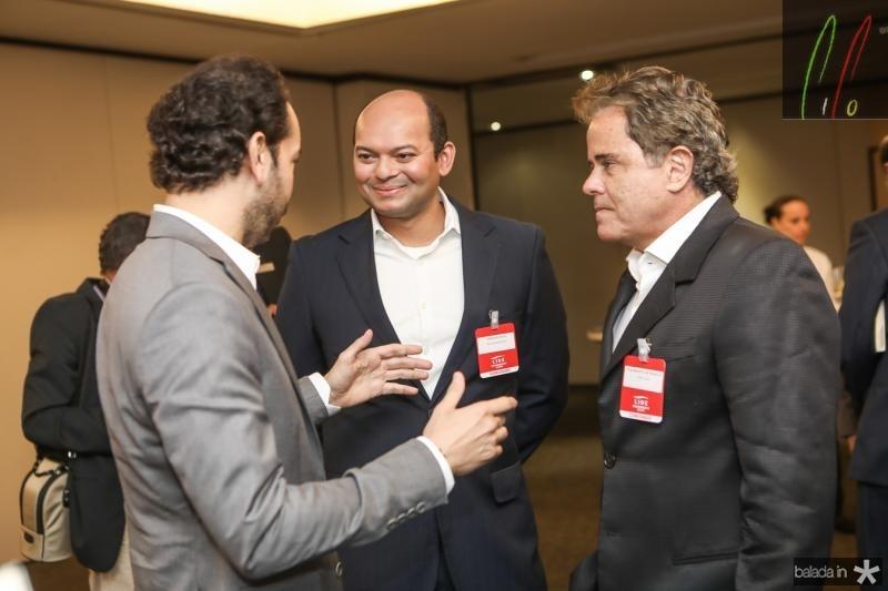 Claudio Vale, Otilio Ferreira e Ivan Bezerra