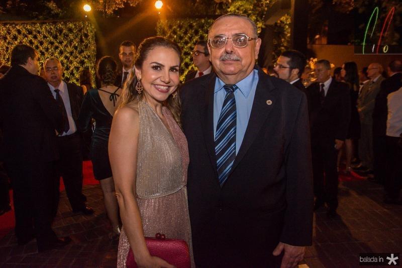 Adriana Queiroz e Sergio Gomes de Matos