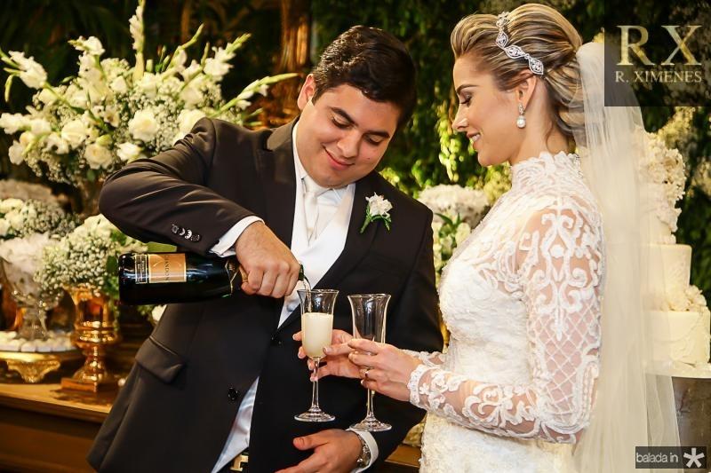Paulo Maciel e Ticiana Pimentel
