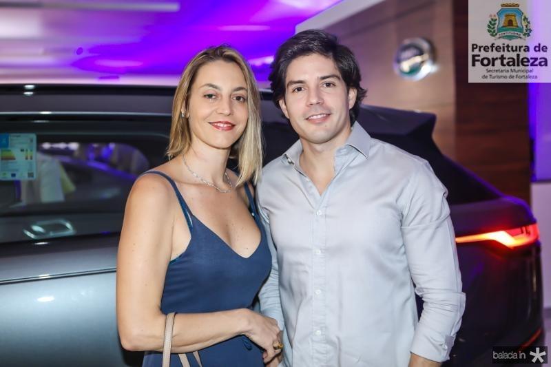 Flavia Pantalena e Rafael Luna