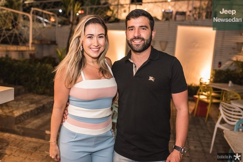 Luiza Melo e Arthur Fonseca