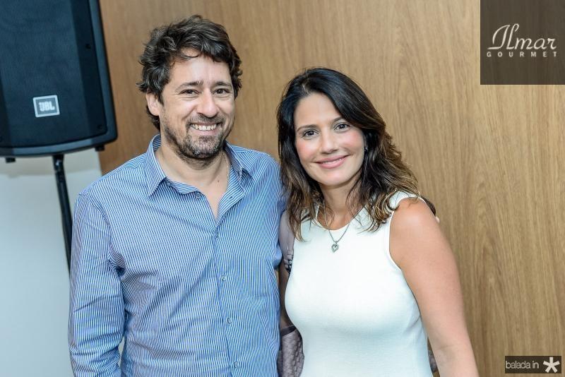 Christian Cravo e Renata Vale