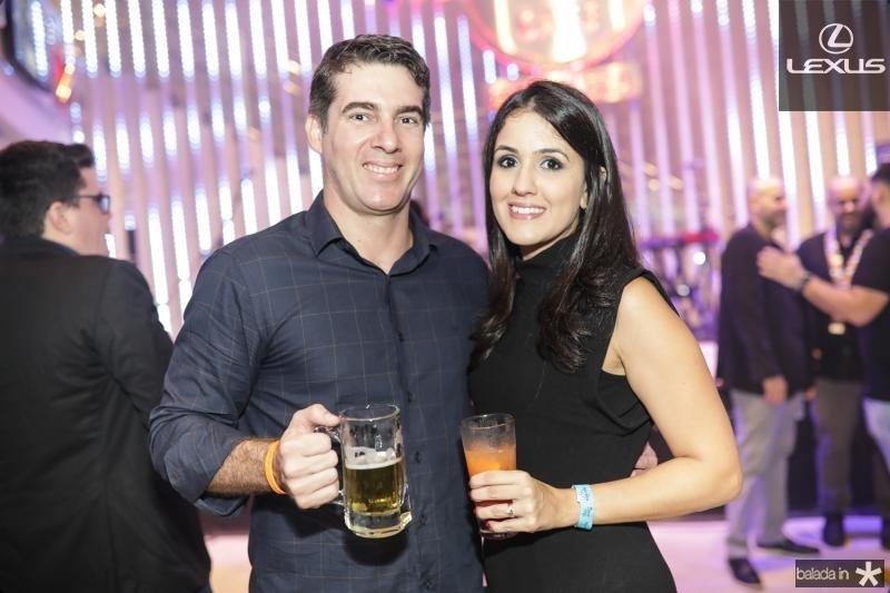 Fred Menezes e Nicole Bachi