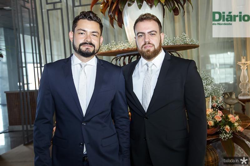 Diego Costa e Nicola Martins