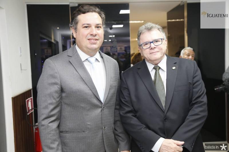 Samuel Dias e Juarez Leitao
