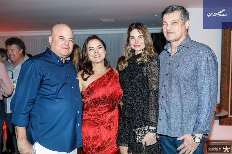 Luciano e Denise Cavalcante, Joyce e Cid Marconi