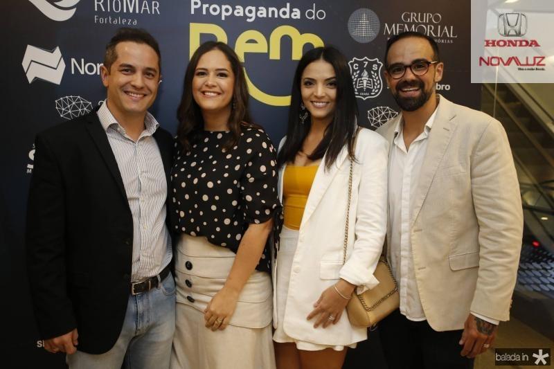 Diego Braga, Priscila Fiuza, Carol Mafra e Tavinho Brigido 1