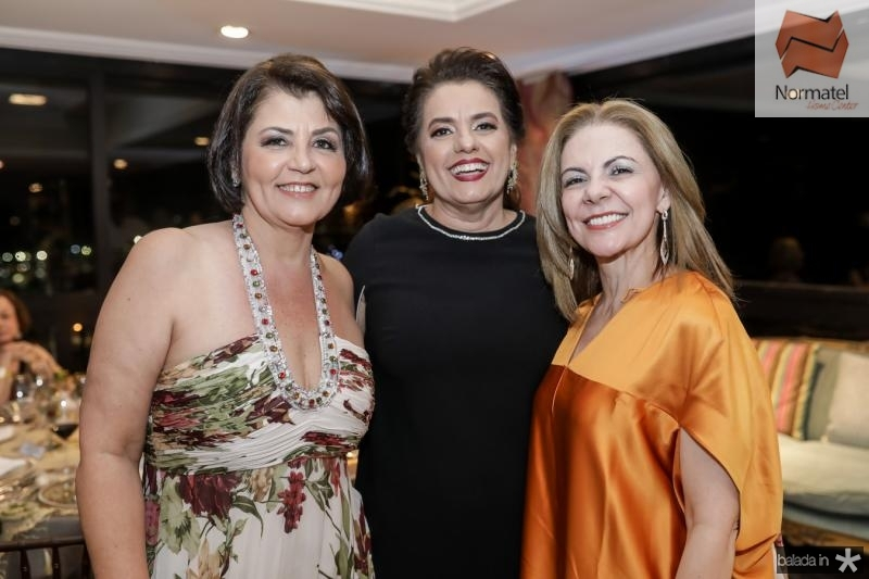 Sueli Romero, Silvana Bezerra e Denise Matos