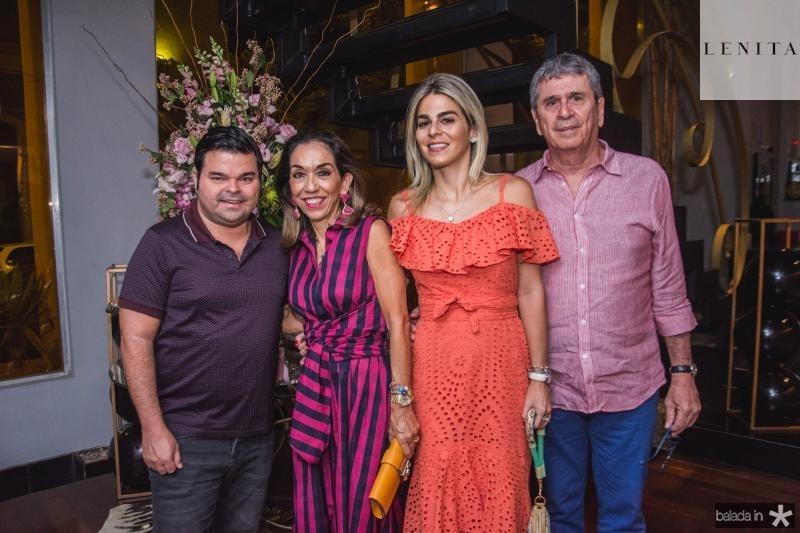 Igor, Marcia, Amanda e Marcio Tavora