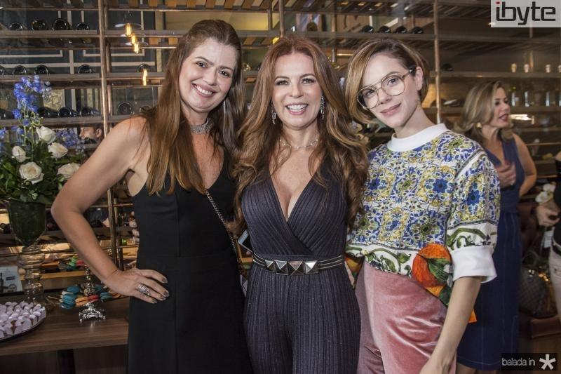 Lucia Fialho, Claudia Quental e Paulinha Sampaio