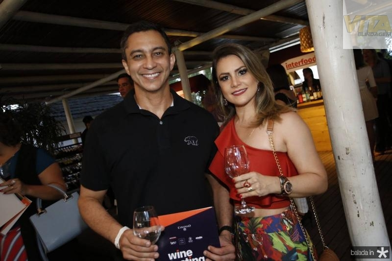 Marcelo Moreira e Ivana Fonseca